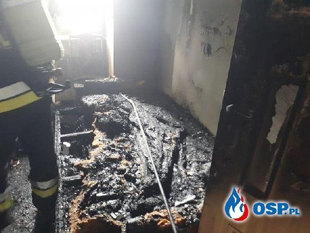 Pożar wywołała komórka podpięta do ładowarki