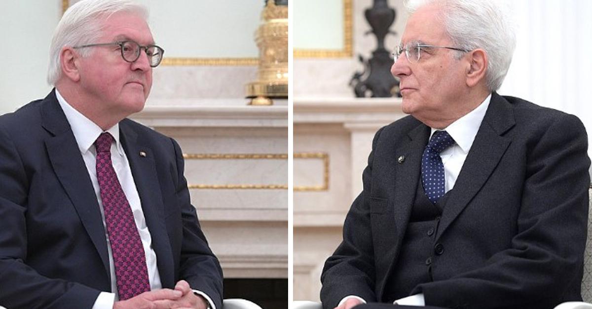 Prezydenci Niemiec i Włoch proszą o przebaczenie