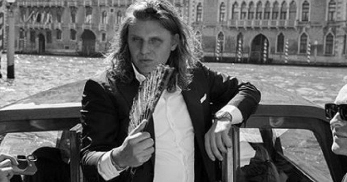 Piotr Woźniak-Starak w dniu ślubu