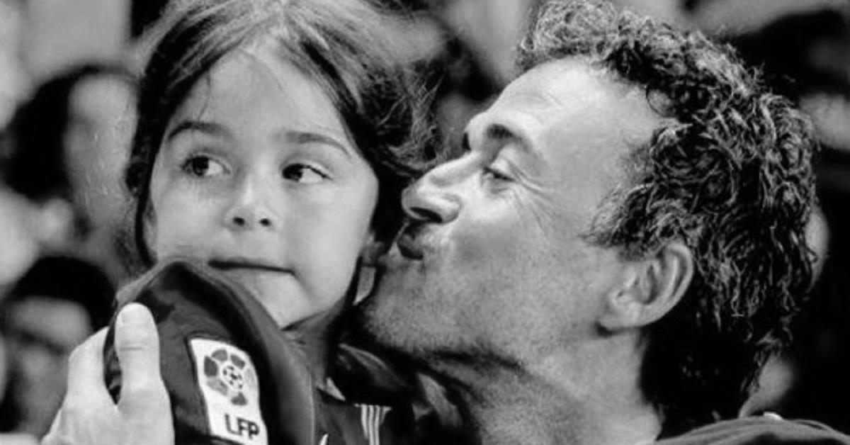 zmarła córka Luisa Enrique
