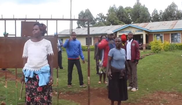 protest rodziców w Kenii
