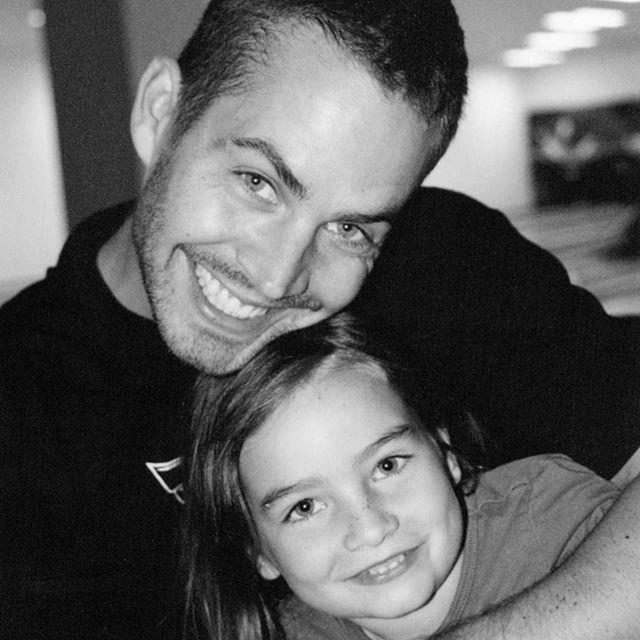 paul walker z córką meadow walker