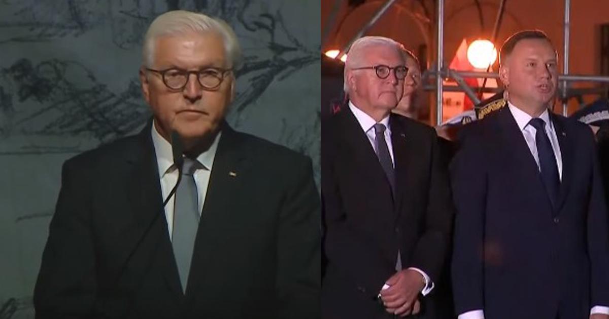 Prezydent Niemiec poprosił Polaków o przebaczenie