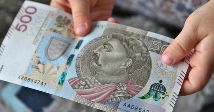 banknoty 500 zł