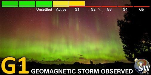 Do Ziemi zbliża się burza magnetyczna
