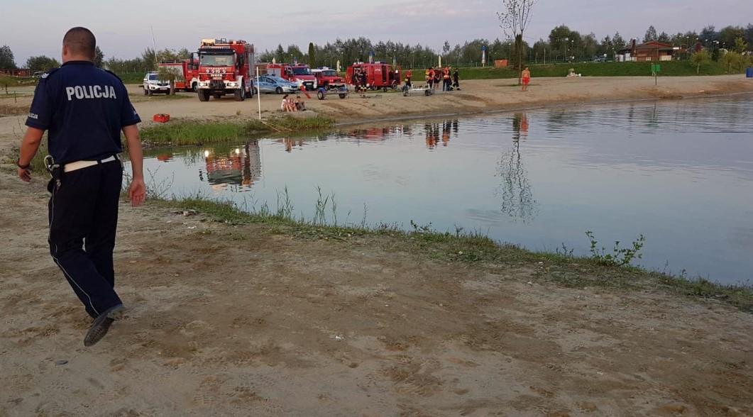 Dziecko zaginęło na kąpielisku w Jurkowie