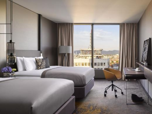 hotel intercontinental pokoje