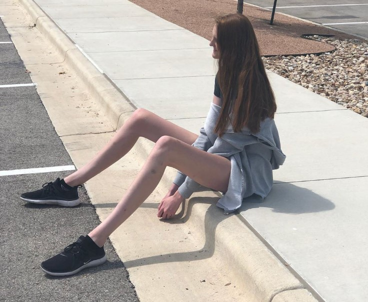 ma najdłuższe nogi na świecie