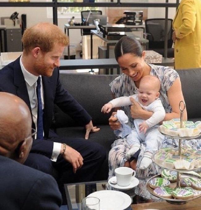 Meghan i Harry pokazali synka