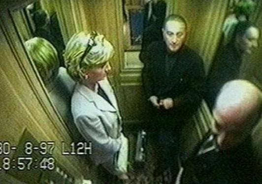 Księżna Diana i Dodi