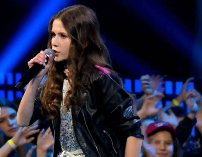 roksana węgiel w the voice kids