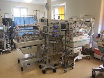 sześcioraczki w szpitalu