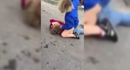 Uczennica pobita przed szkołą w Lubinie