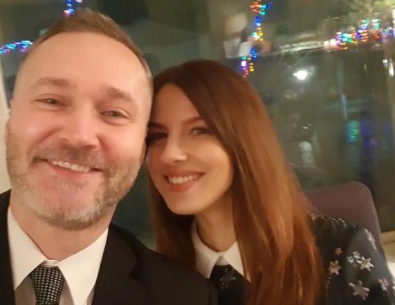 Jarosław z żoną