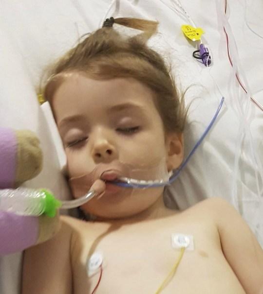 Allie Birchall w szpitalu