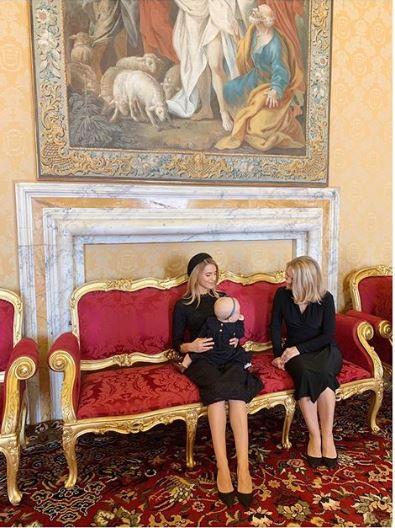 Kasia Tusk z mamą i córką