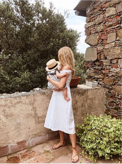 Kasia Tusk ze swoją córeczkę