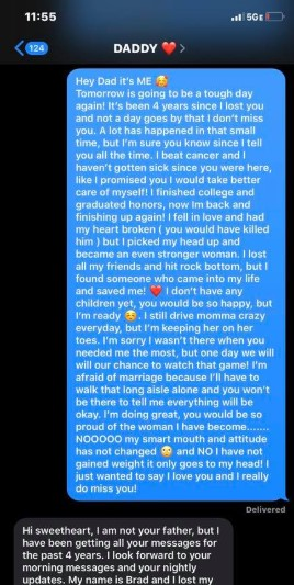 SMS od ojca