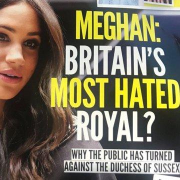 brytyjskie media dręczą meghan markle