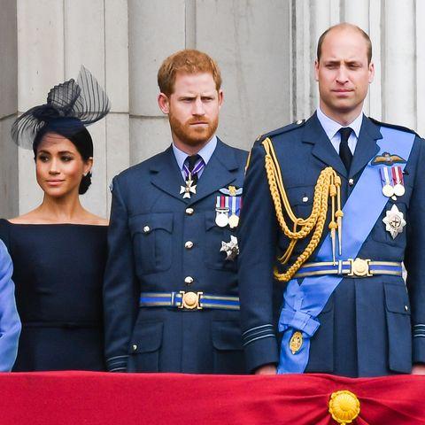 meghan markle, książę harry i william