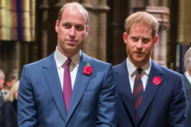 książę harry i william