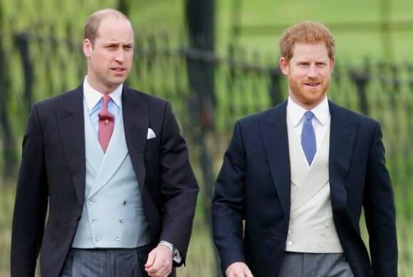 książę harry i william