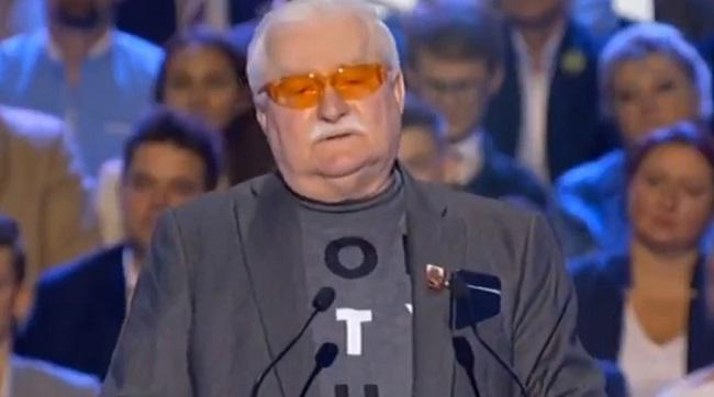 Lech Wałęsa zaatakował Kornela Morawieckiego