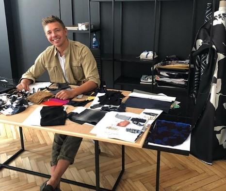 Łukasz J. projektant mody, zatrzymany