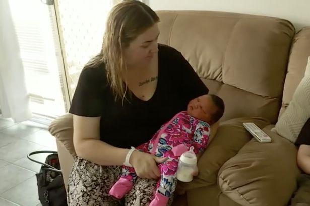 kobieta która urodziła dziecko ważące 6 kg