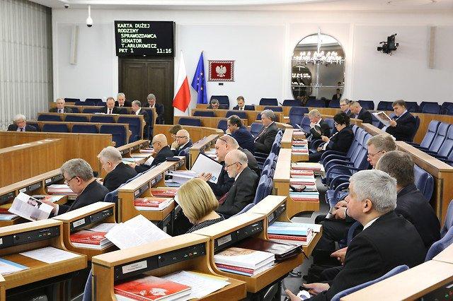 posiedzenie senatu rp