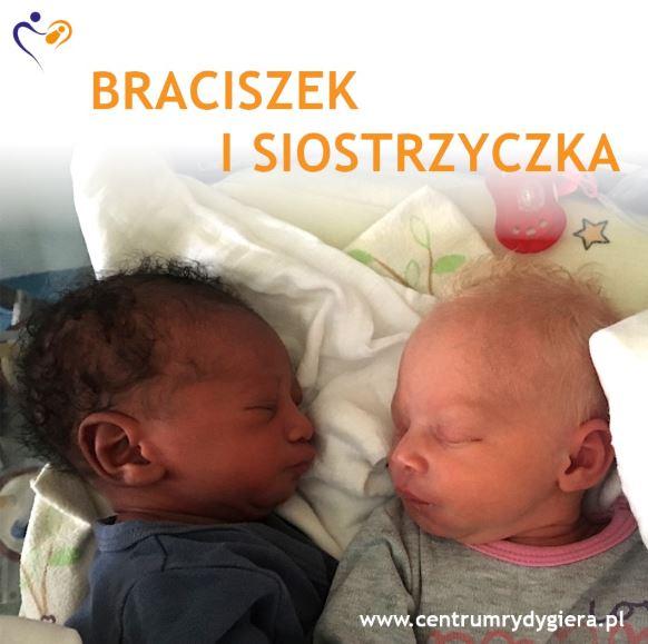 Bliźnięta o dwóch różnych kolorach skóry z Łodzi