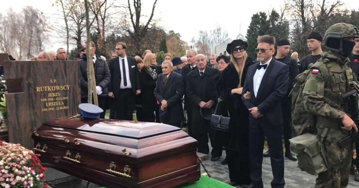 Rutkowski pochował ojca