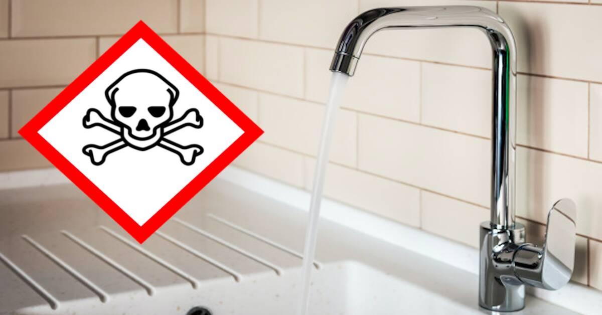 Picie wody z kranu może zabić