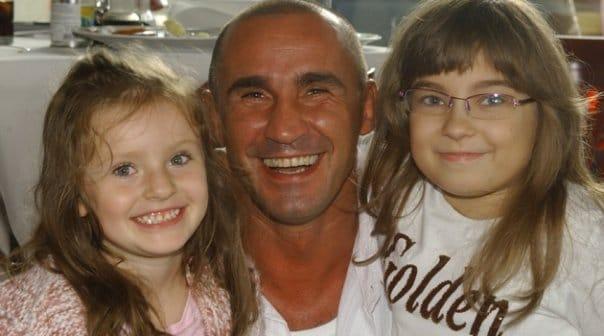 Przemysław Saleta relacje  z córką