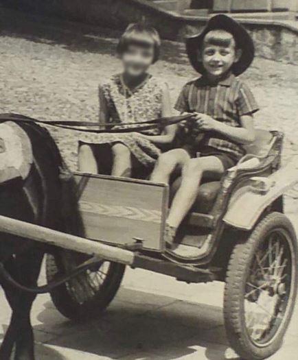 Jacek Wójcik w dzieciństwie