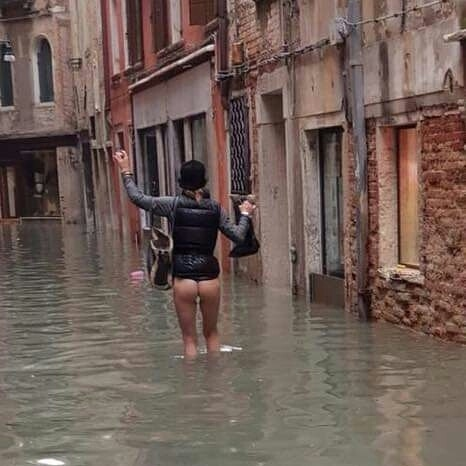 wenecka powódź
