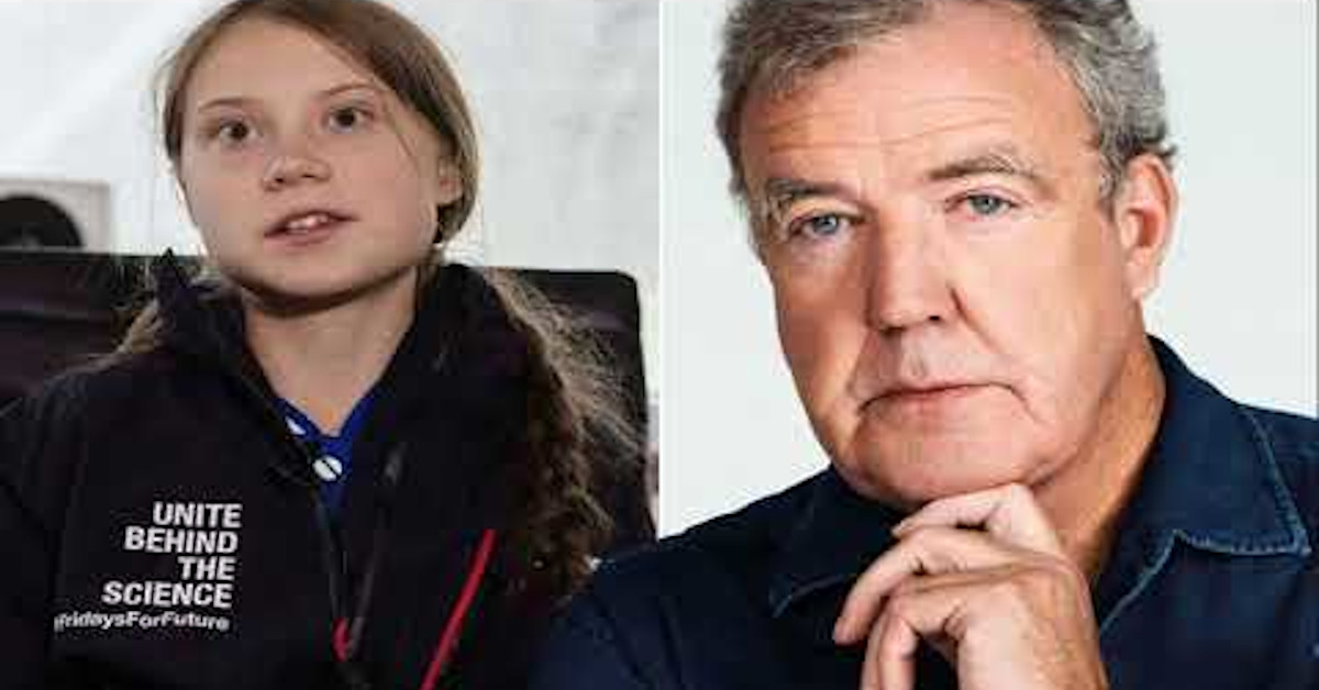 Clarkson krytykuje Gretę Thunberg