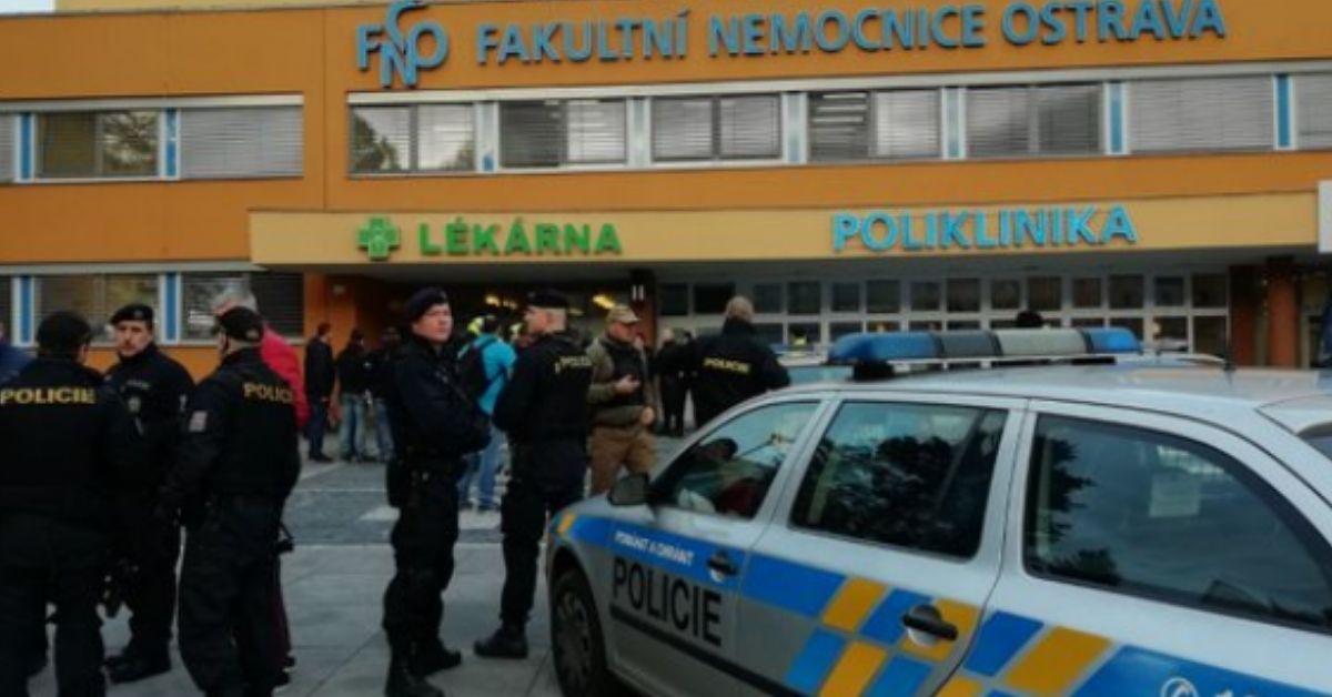 Czechy zamachowiec popełnił samobójstwo