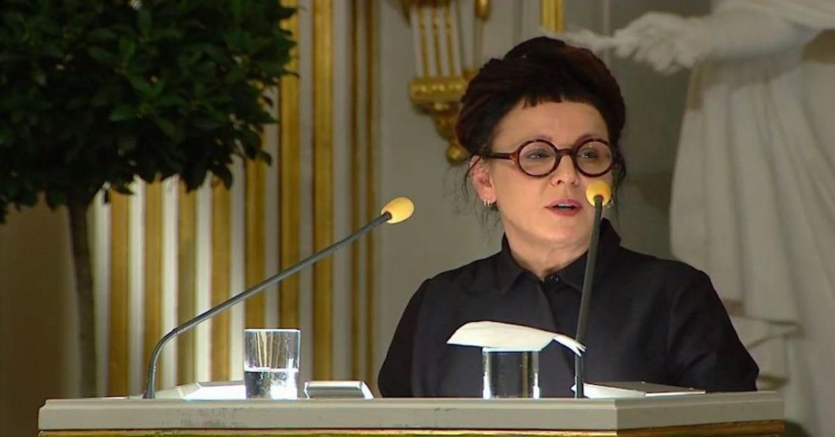 Ile kosztowały okulary Olgi Tokarczuk