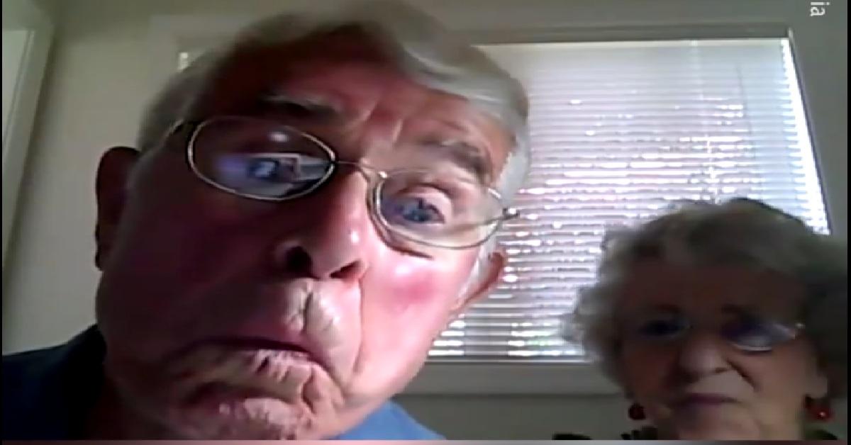 Starsze małżeństwo nakręciło video przez przypadek 0