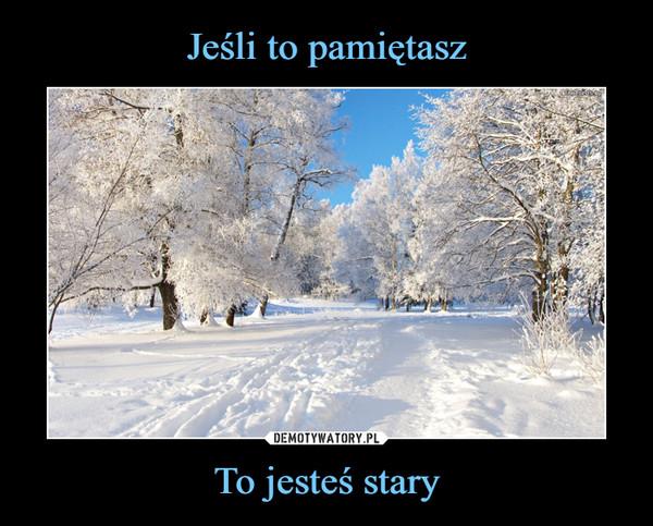 Zima bez śniegu