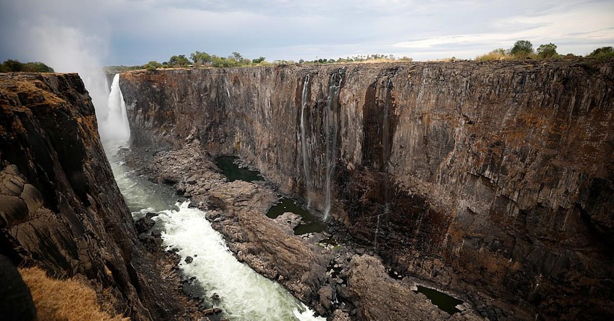 wodospady Wiktorii wysychają