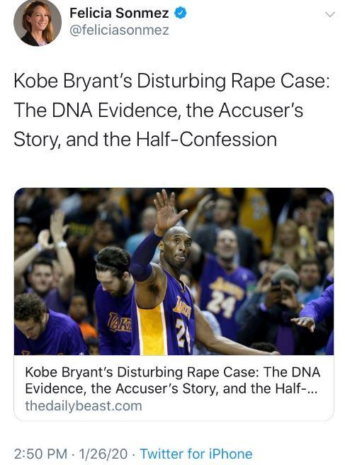 Śmierć koszykarza Kobe Bryanta