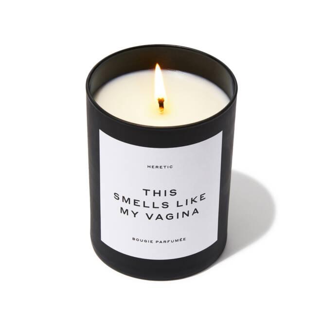 Świeczki o zapachu waginy
