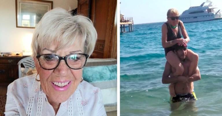 80-letnia emerytka poślubi 35-latka