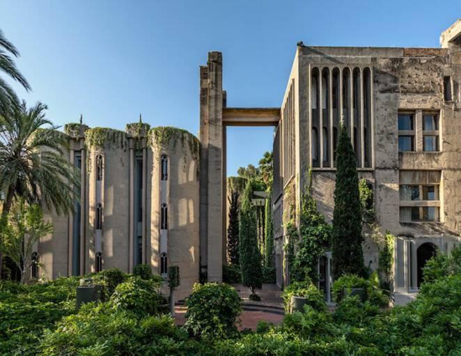 Barcelona opuszczona fabryka cementu