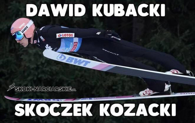 13 zabawnych odsłon Dawida Kubackiego! Memy po jego zwycięstwie opanowały Internet