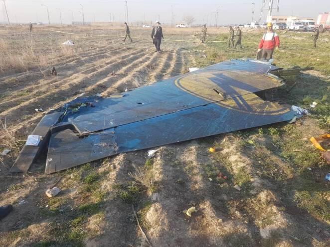 Iran przyznał się do zestrzelenia samolotu