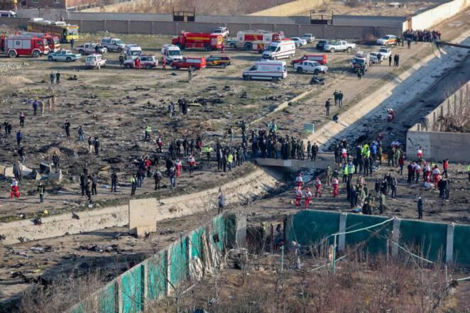 Iran zestrzelił samolot pasażerski