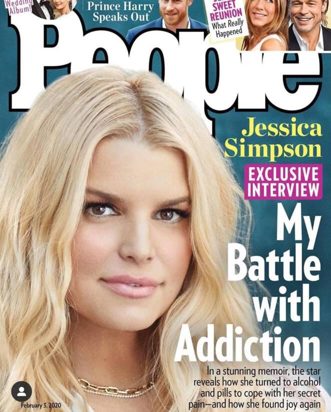 Jessica Simpson o swoim uzależnieniu